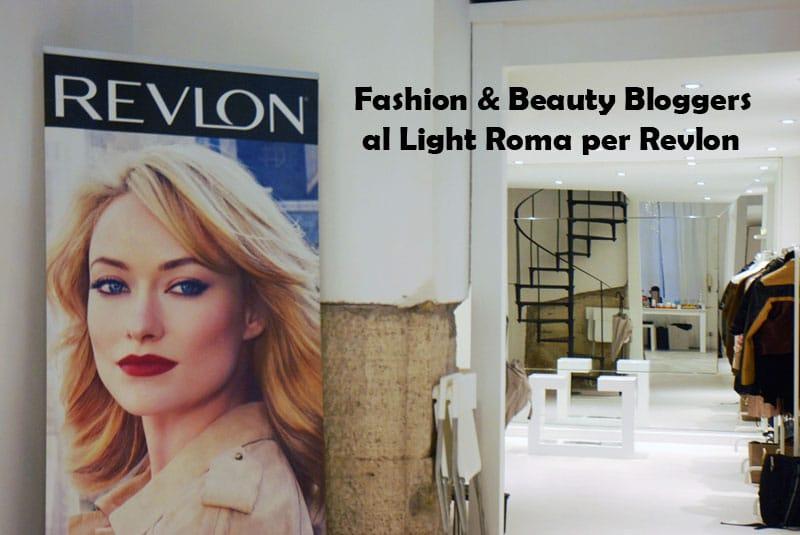 light roma revlon makeup beauty fashion bloggers