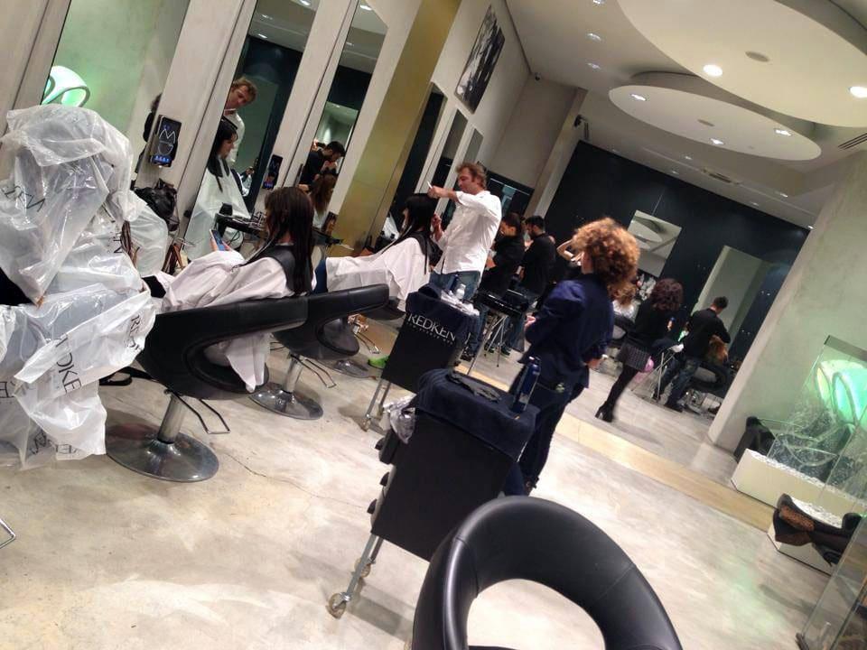 redken marco gentile factory capelli parrucchiere roma
