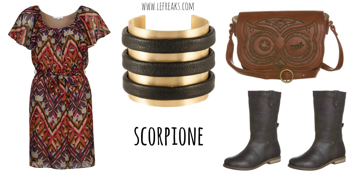 moda zalando segni zodiacali outfit scorpione