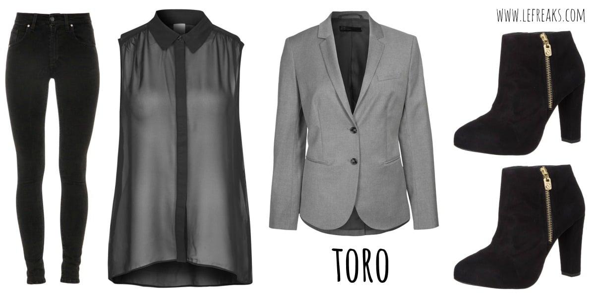 moda zalando segni zodiacali outfit toro