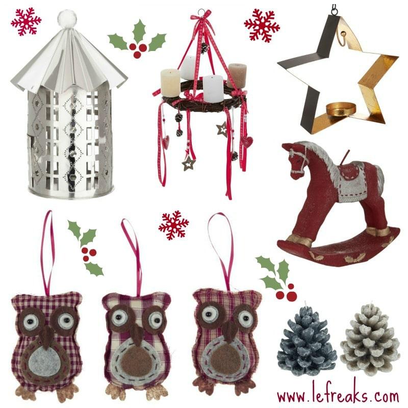 Decorazioni natalizie per la casa le freaks - Decorazioni per casa ...