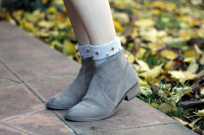 calzini alto milano borchie croci
