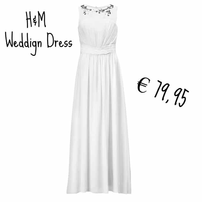 H M lancia il suo primo abito da sposa low cost a € 79 ed44b76f6f1