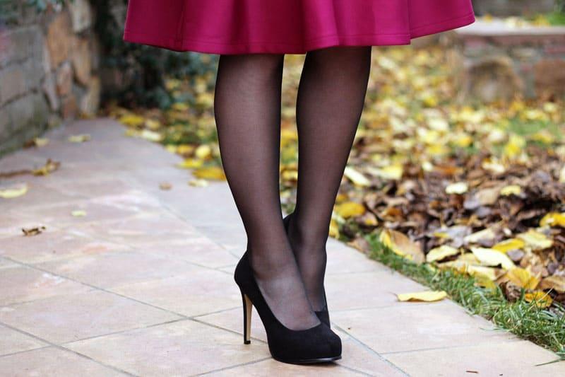 scarpe tacco decollete