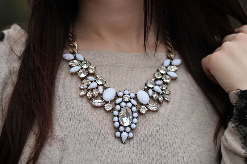 collana gioiello statement necklace chicwish