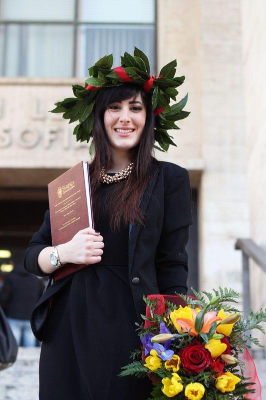 outfit laurea lettere sapienza federica orlandi fashion blogger roma