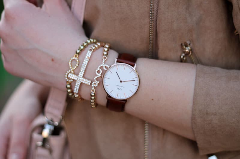 orologio daniel wellington outfit primaverile shopping online alexoo