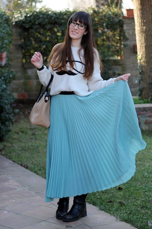 Bien connu Come indossare le gonne lunghe in inverno? Ecco le mie proposte  BP43