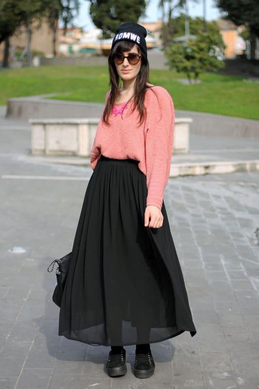 Outfit Gonna LungaSneakers Largo Maglione E Un Per Mio Il Flatform rCdtshQ