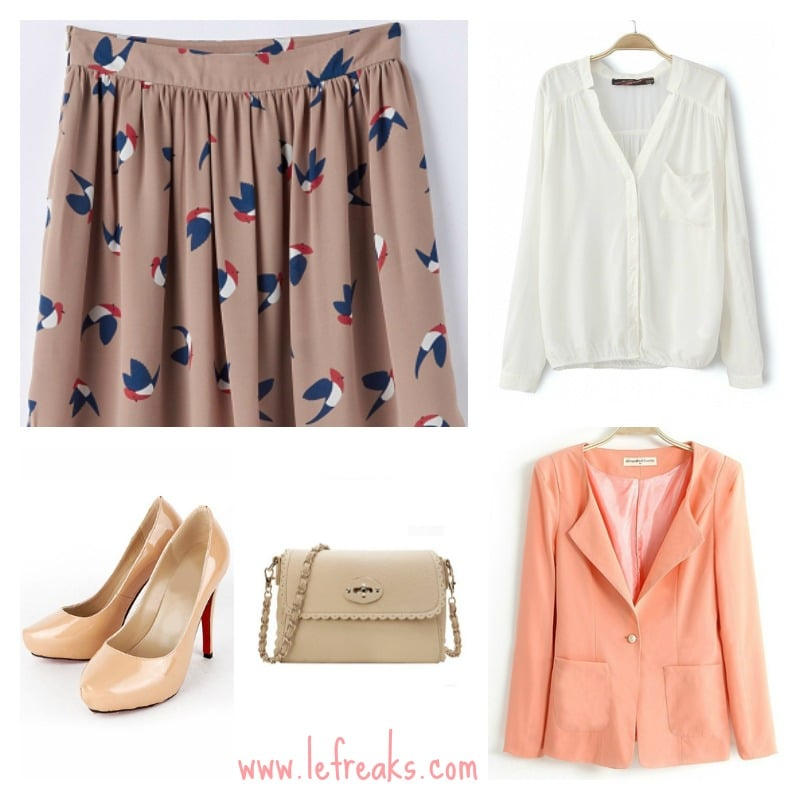 outfit primavera colori pastello fashion blogger roma tendenze 2014