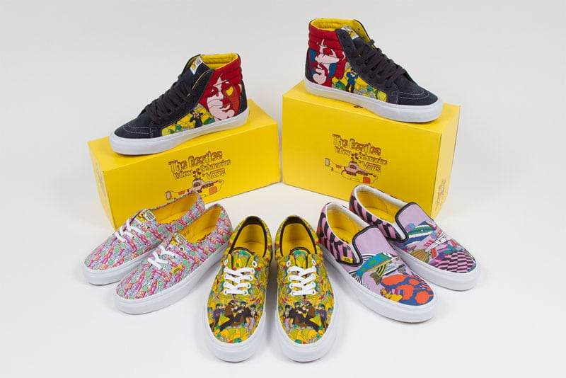 capsule collection spring 2014 vans the beatles yellow submarine