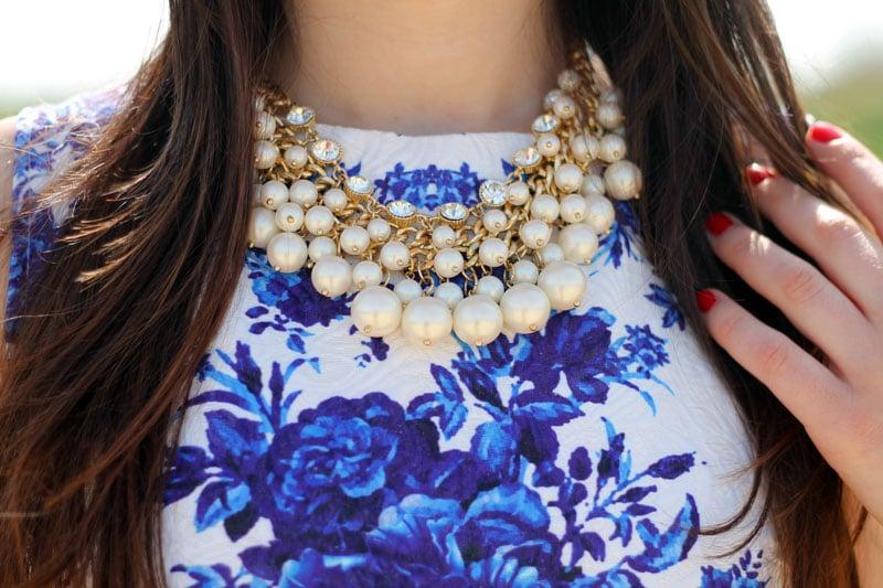 outfit vestito persunmall  collana my rare love