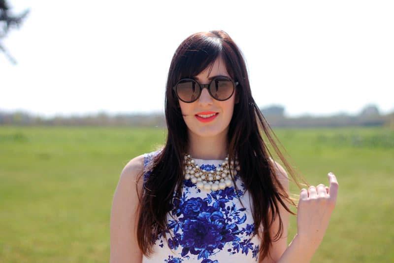 outfit vestito persunmall occhiali emporio armani