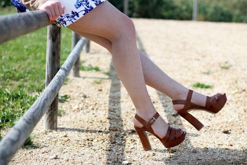 outfit vestito persunmall sandali guess