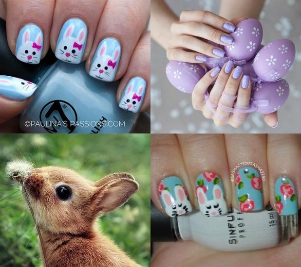 manicure pasqua unghie smalto idee