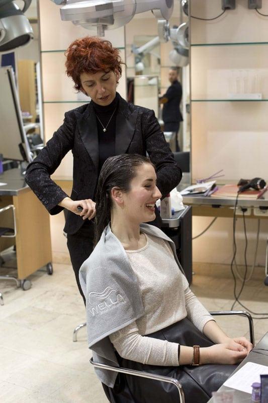 wella capelli parrucchieri sp liquid hair evento roma fashion beauty blogger