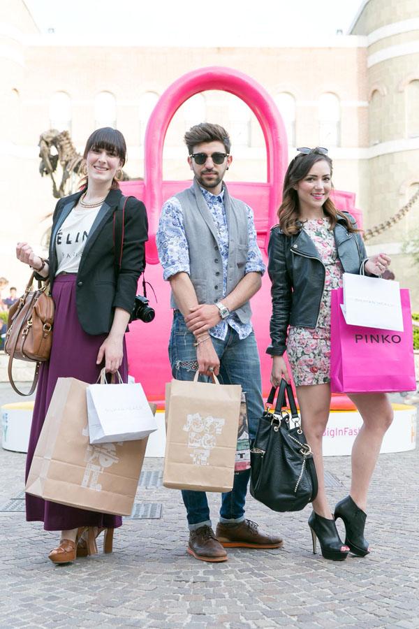 castel romano designer outlet  federica orlandi fashion blogger roma