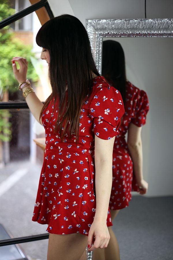outfit tutina topshop blackfive borsa steve madden fashion blogger roma
