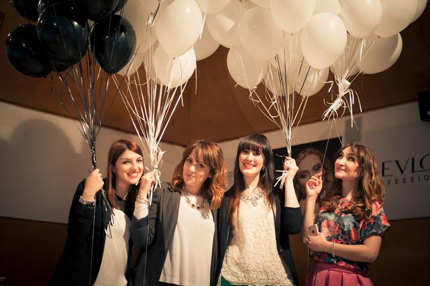 party revlon professional educational point accademia parrucchieri roma