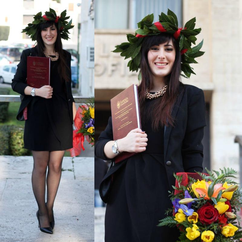 come indossare il blazer nero outfit  formale elegante laurea