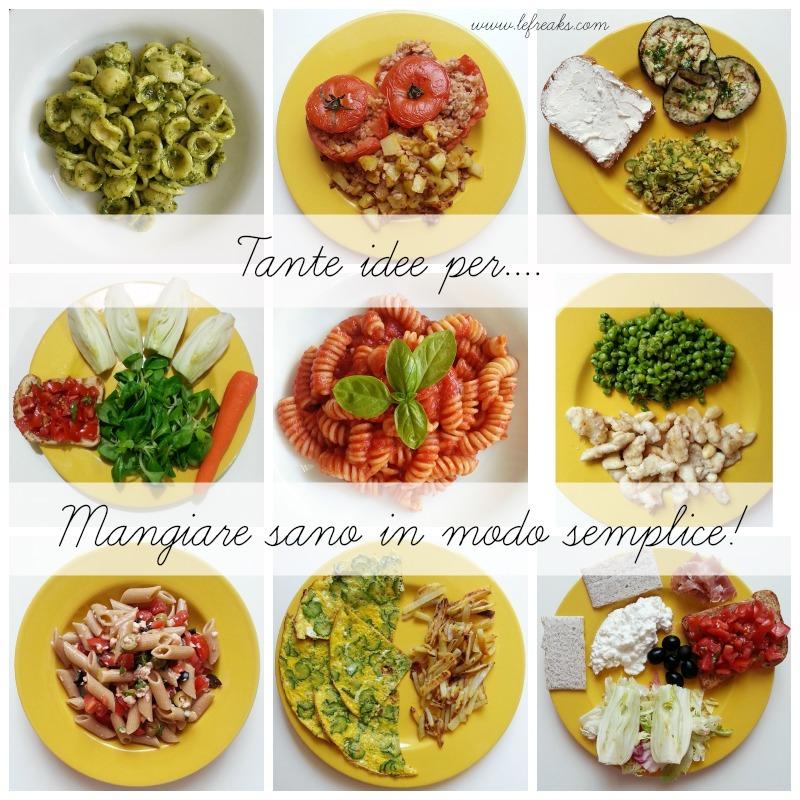 cibo dieta mangiare sano ricette food blogger roma