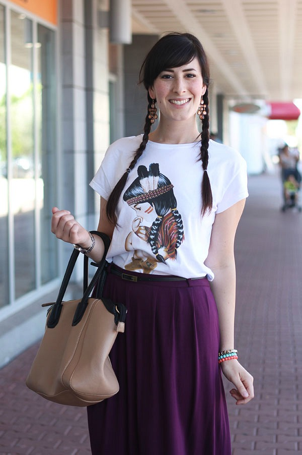outfit estate tshirt siamoises gonna lunga sandali birkenstock