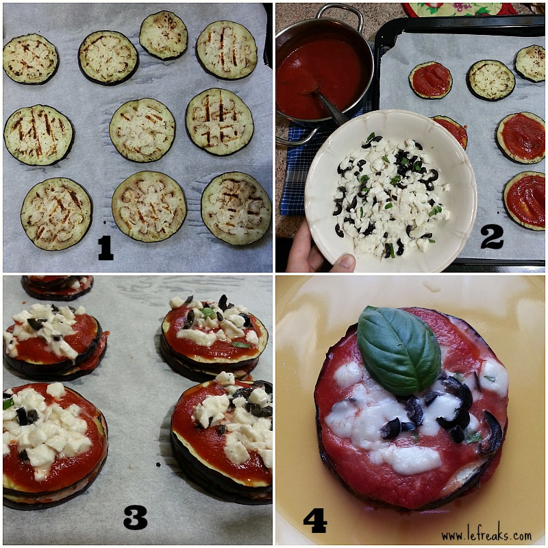 ricetta parmigiana light pizzette melanzane food blogger