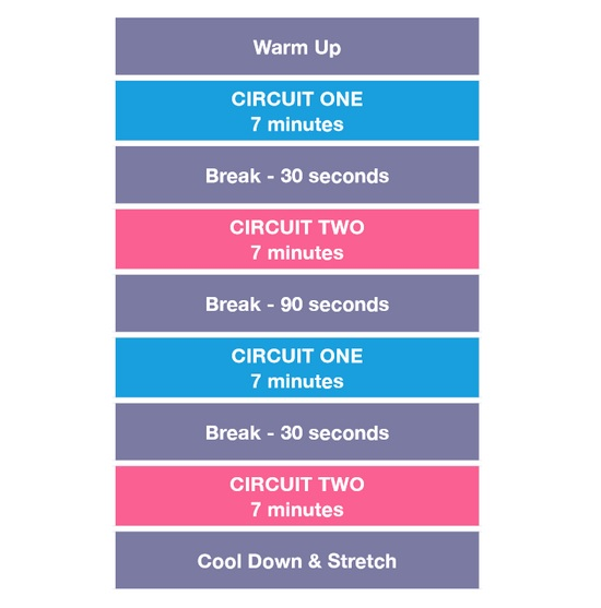 workout circuiti kayla itsines bikini body guide
