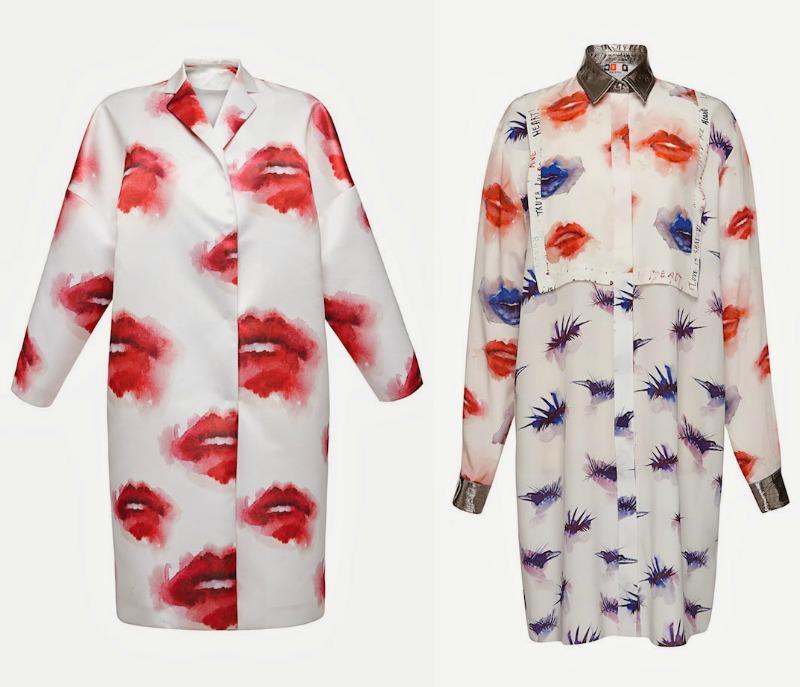msgm lips mania pre fall 2014 moda donna