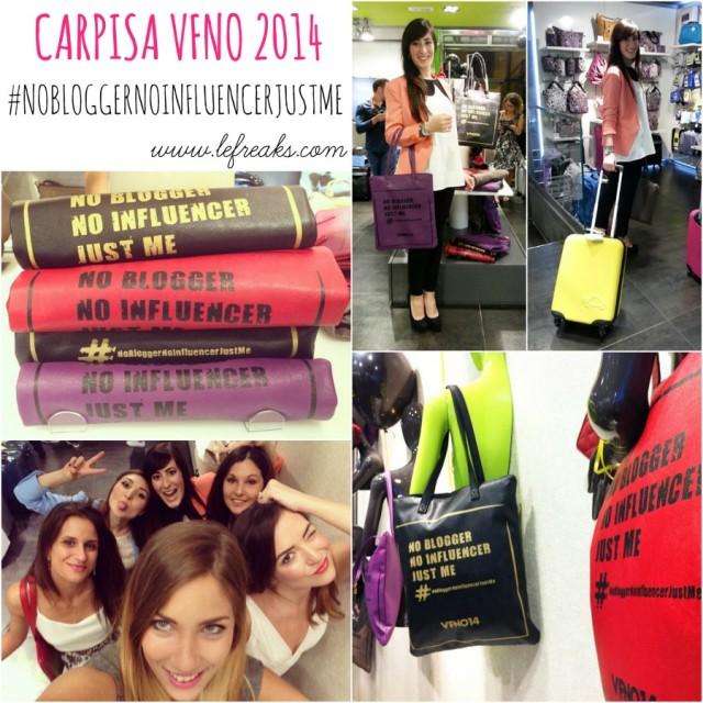 carpisa vogue fashion night out 2014 roma federica orlandi blogger