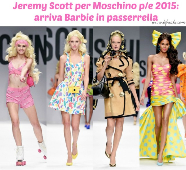 jeremy scott moschino sfilata milano primavera estate 2015