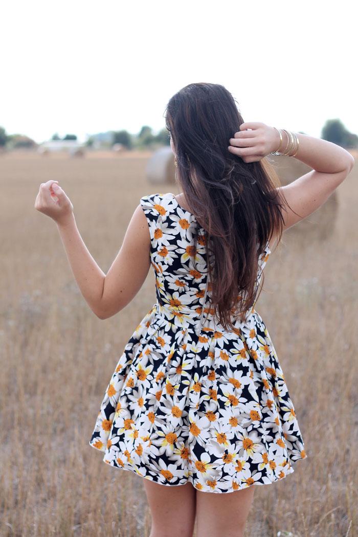 outfit estate vestito margherite chicwish fashion blogger roma