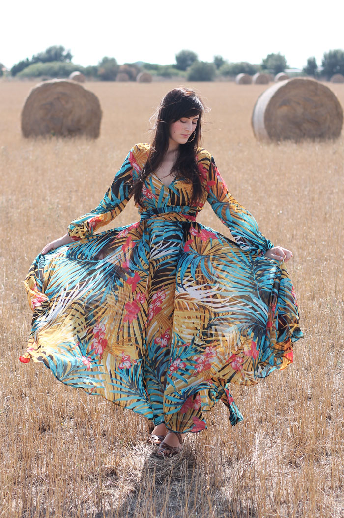Roma Gipsy Freaks 1le Lungo Blogger Outfit A43j5lr Fashion Vestito 76mYyIbfgv