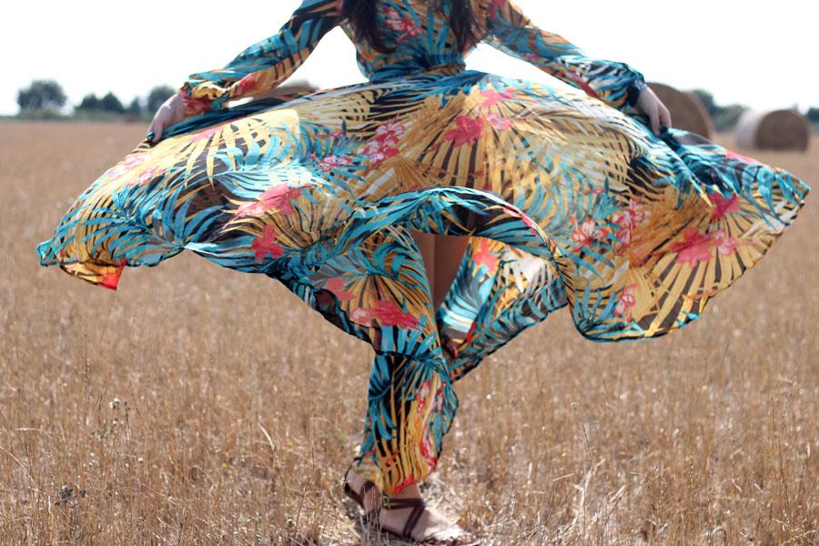 outfit vestitio gipsy federica orlandi fashion blogger roma