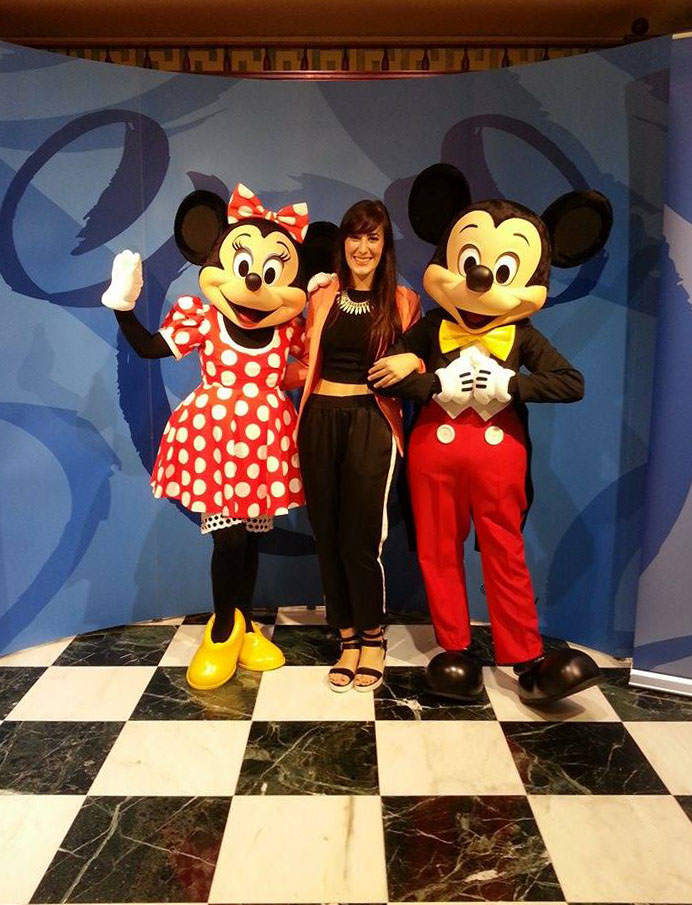 party disney store via del corso roma fashion blogger