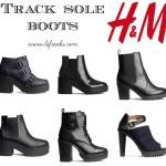 hm track sole boots tendenze moda scarpe autunno inverno 2014