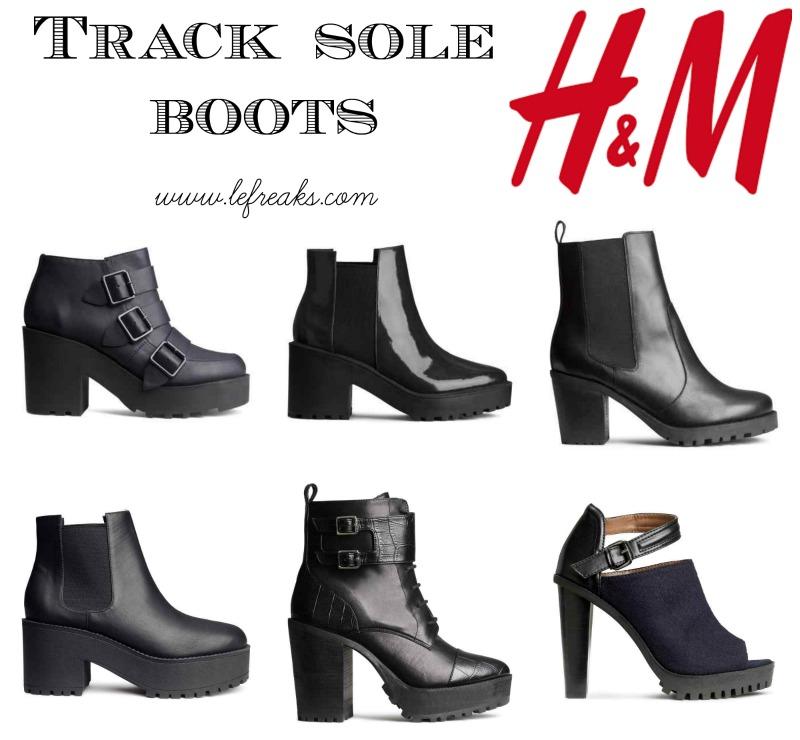 best authentic fc0c3 1ab48 Moda scarpe a/i 2014-2015: Track Sole Boots (By Zara, H&M e ...