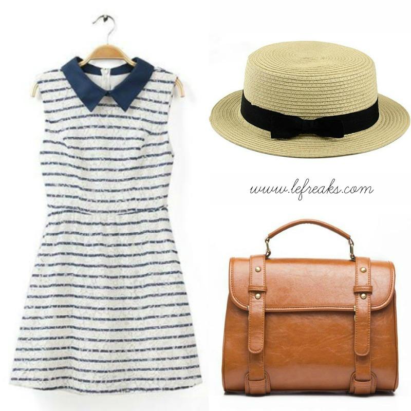 outfit romantico bon ton vintage shopping online rosegal