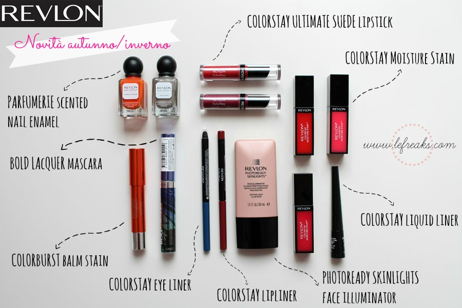 revlon make up trucchi prodotti bellezza novita inverno 2014
