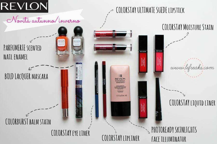 revlon make up trucchi prodotti bellezza novita inverno 2014