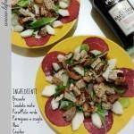 ricetta insalata ricca light mangiare sano bresaola