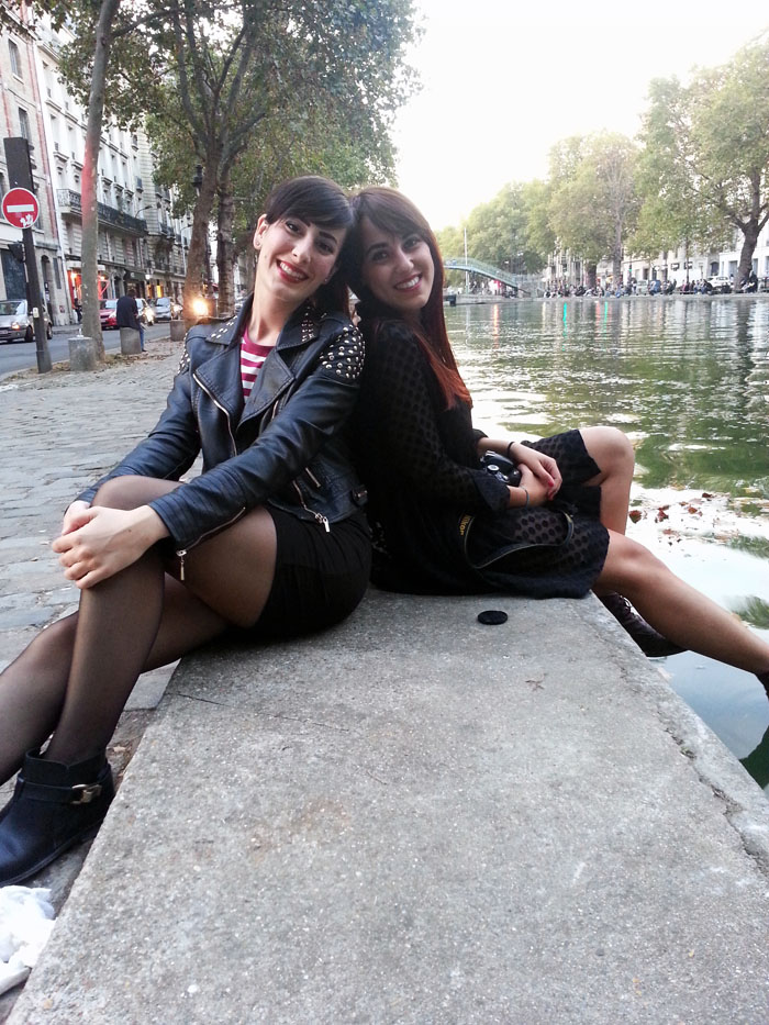 viaggio parigi federica orlandi outfit louvre canal saint martin
