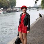 foto viaggio parigi outfit federica orlandi