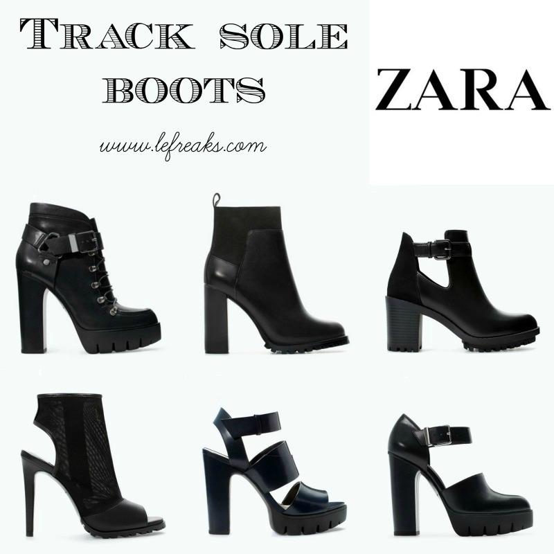 zara asos track sole boots tendenze moda scarpe autunno inverno 2014