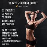 circuito brucia grasso mini workout fitness