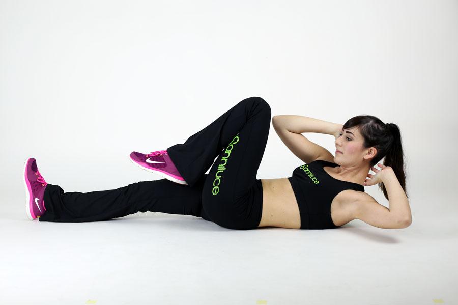 federica orlandi fitness abbigliamento sportivo anni luce
