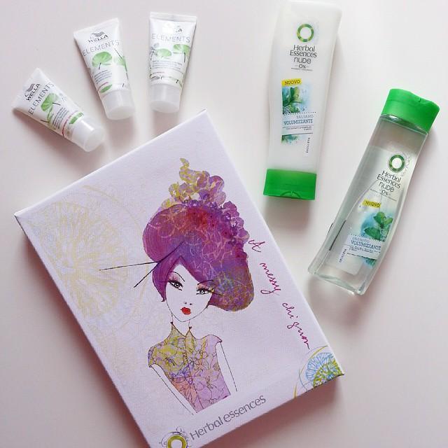 prodotti capelli shampoo balsamo herbal essences wella
