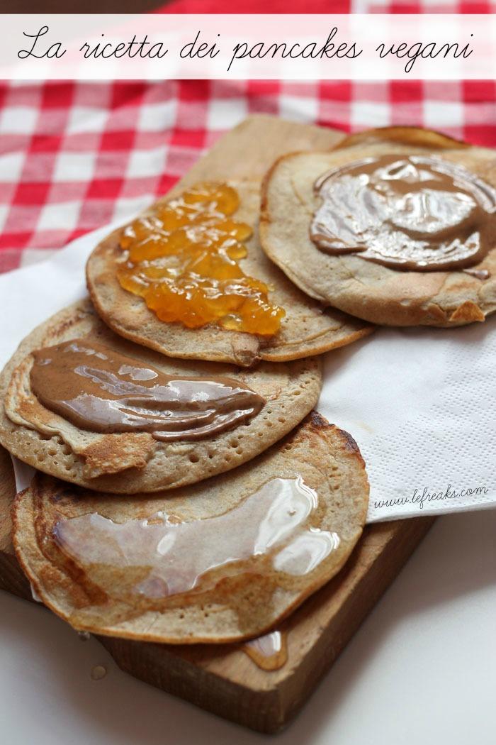 ricetta pancakes vegani ingredienti biologici pazienti.it
