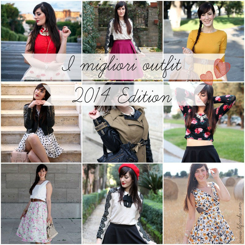 migliori outfit del 2014 fashion blogger roma federica orlandi