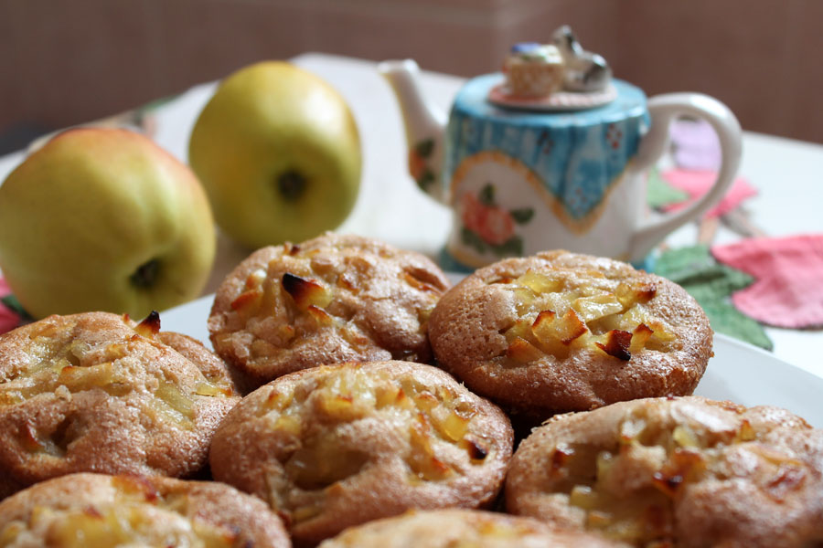 ricetta muffin vegani alle mele